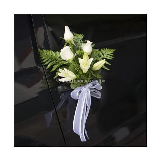 Bouquet para auto
