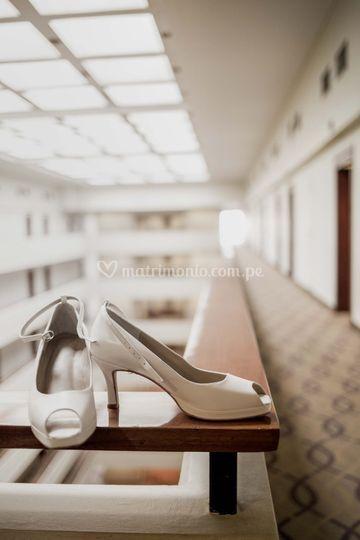 Zapatos de novia a medida
