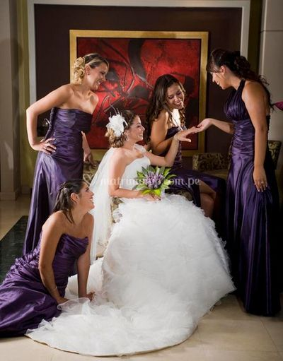 La novia y sus damas de Sensuelle
