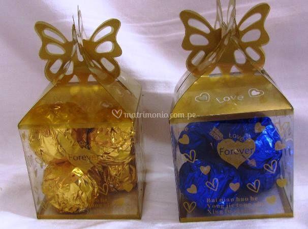 Cajas mariposa