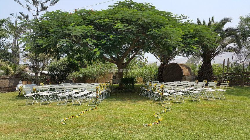 Jardines ceremonia