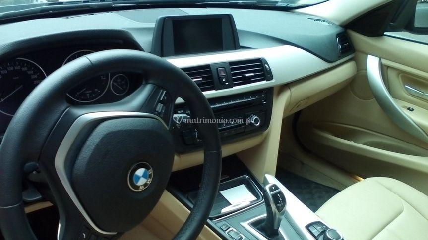 Interior cuero BMW 320i