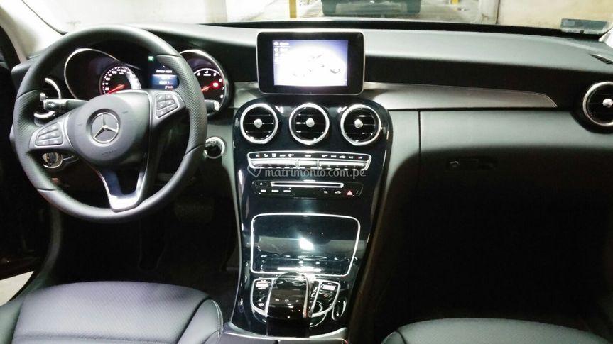 Mercedes 2015 interior