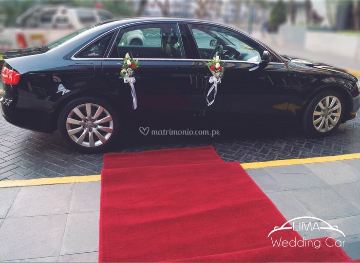 Incluye alfombra roja