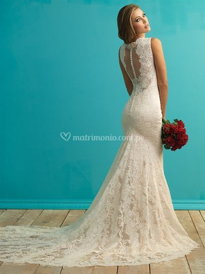 9253 - back/ Allure Bridals
