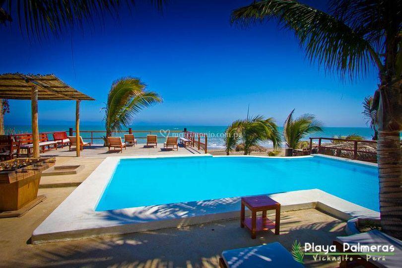 Hotel Playa Palmeras Vichayito