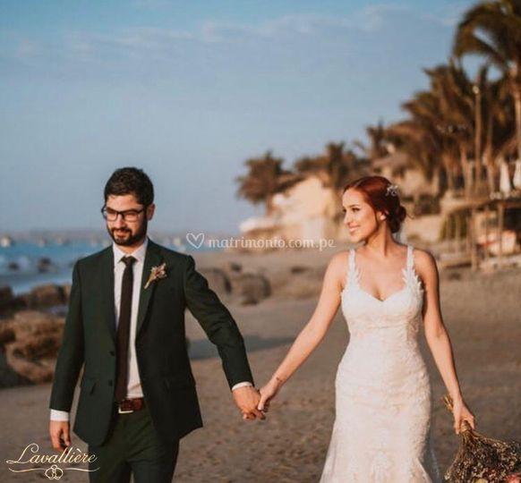 Cliente - Matrimonio en playa