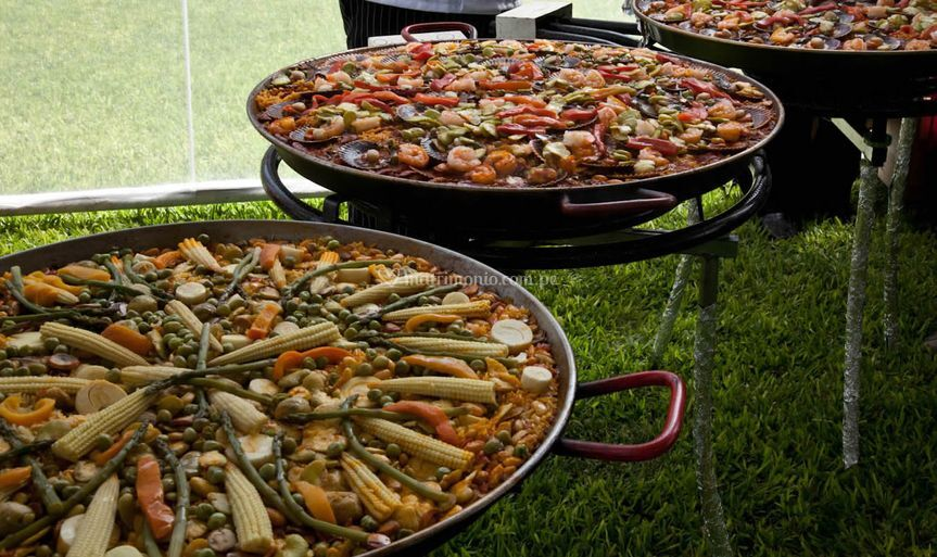 Buffet de Paellas de Pancho