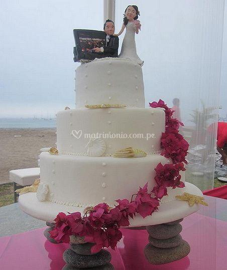 Pasteles para boda