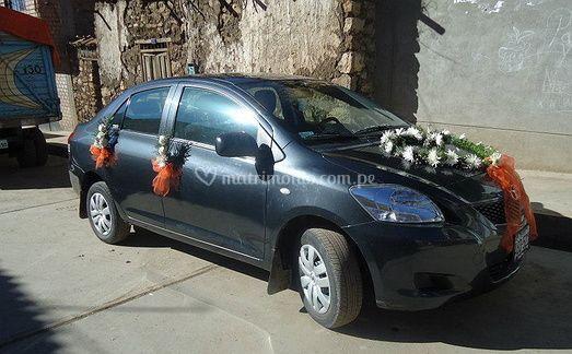 Alquiler auto boda