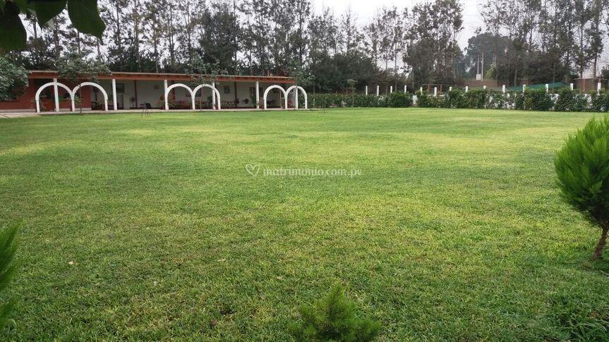 Jardín principal