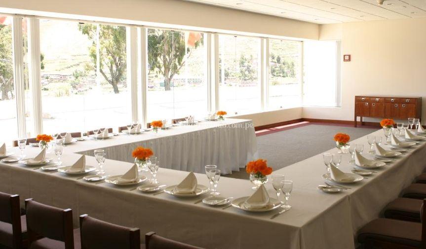 Ideal para banquetes de Libertador Lago Titicaca