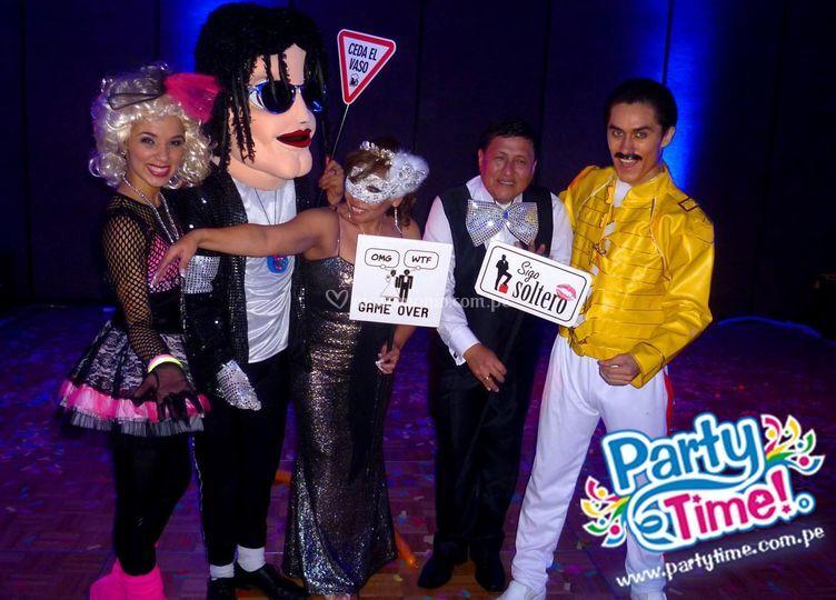 PartyTime© | Ochenteros