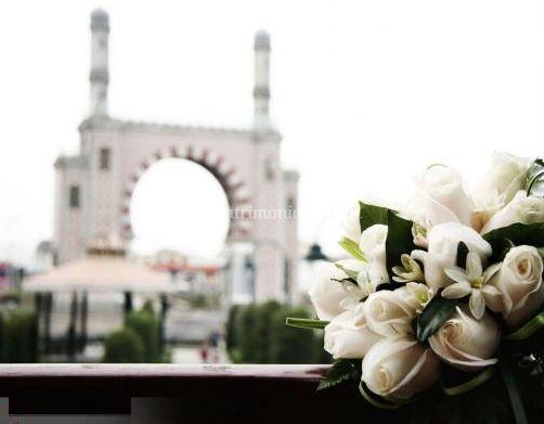 Bouquet en el matrimonio