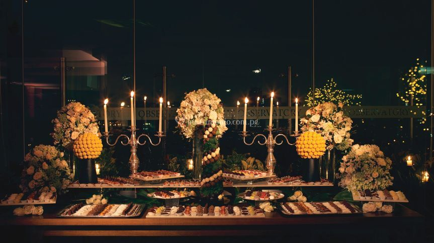 Descoración mesa de dulces