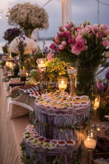 Detalles mesa de dulces