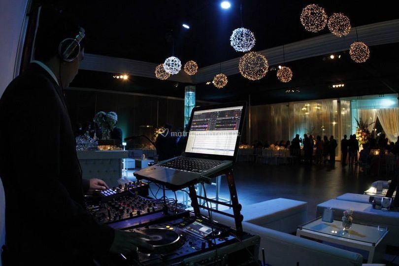 Cabina del DJ