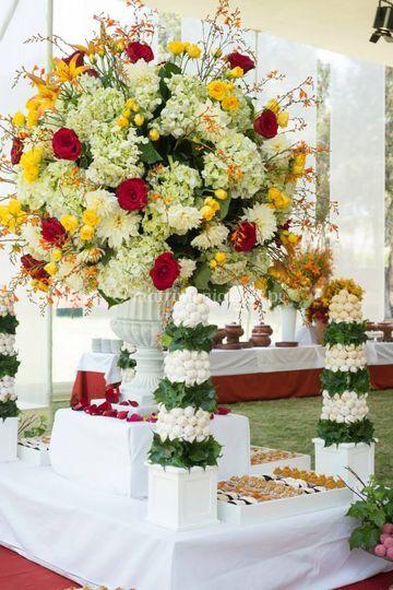 Flores para su recepción