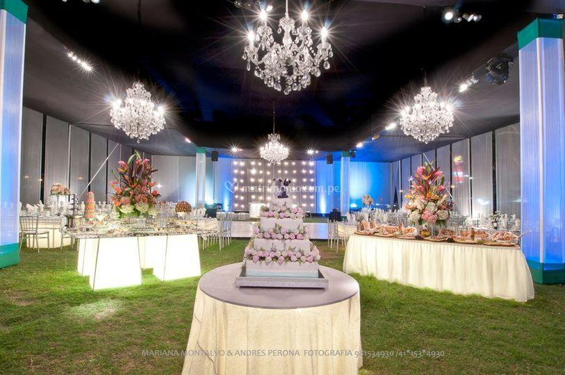 Matrimonio iluminado