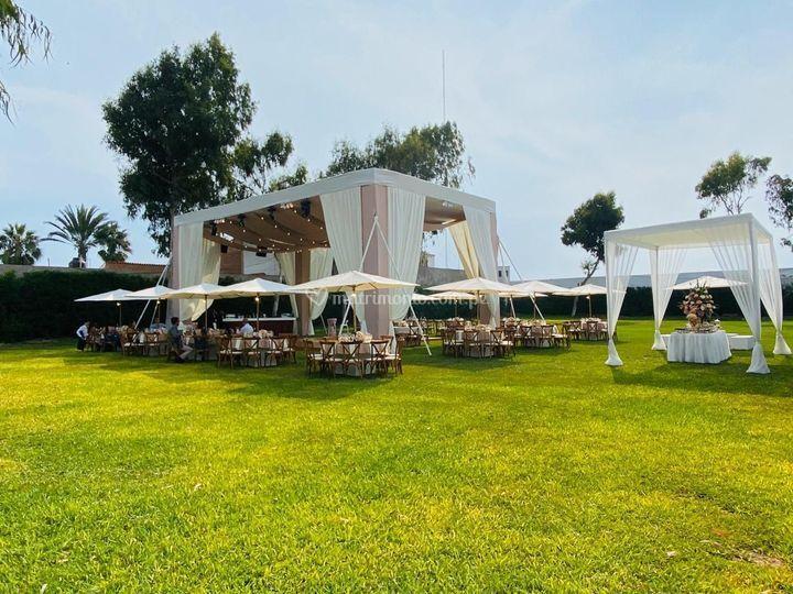 Decoración boda verano