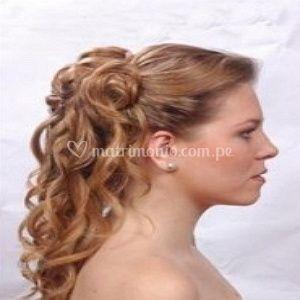 Peinado para tu boda