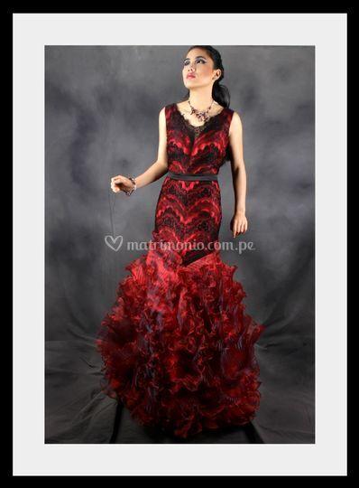Vestido Rose - CarmenSeminario
