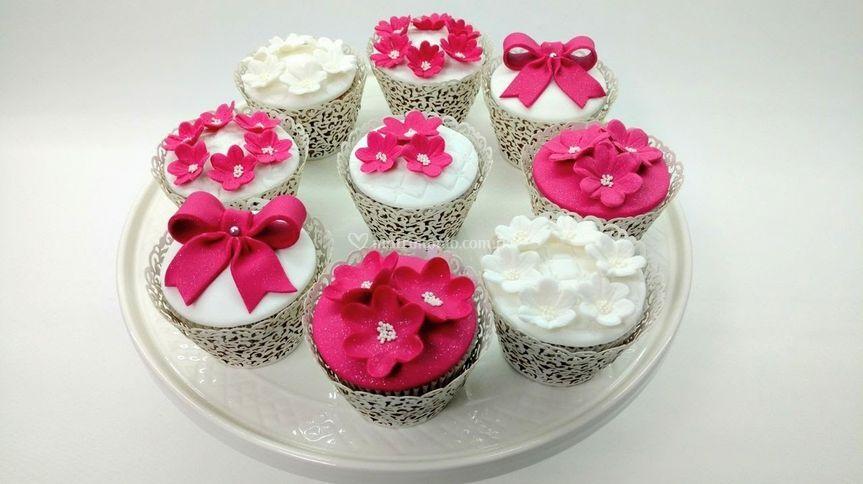 Cupcakes de novia