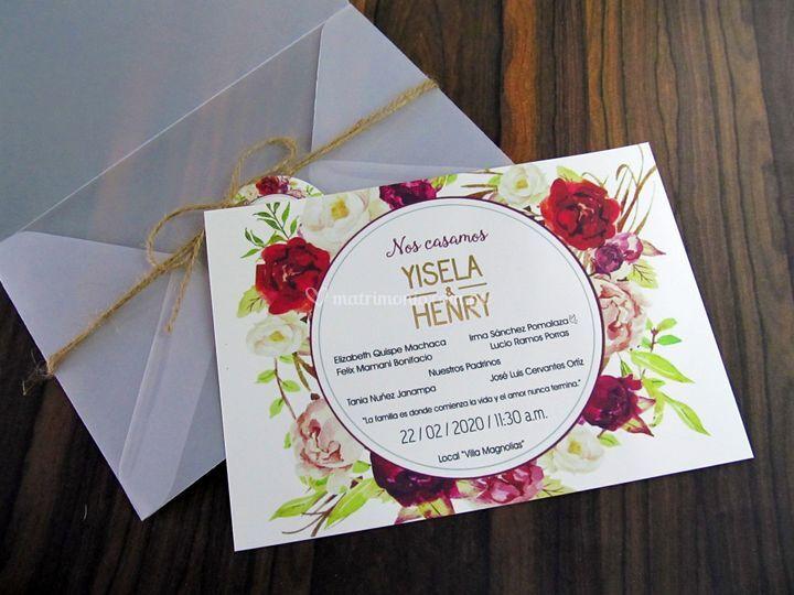 Invitaciones Mia - Servicios Gráficos