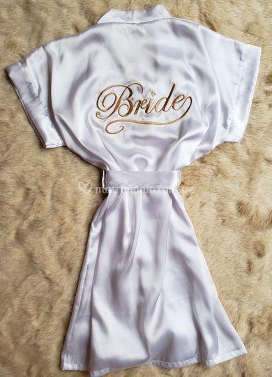 Bata bride blanca