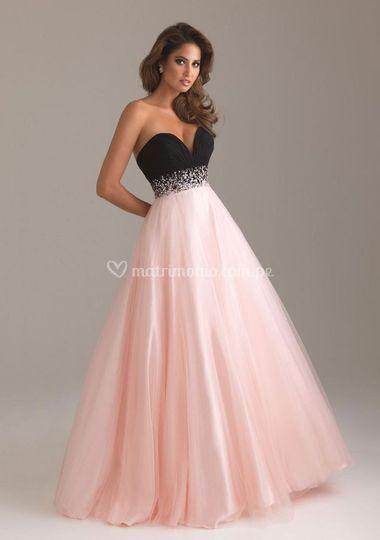 Estilo princesa rosa