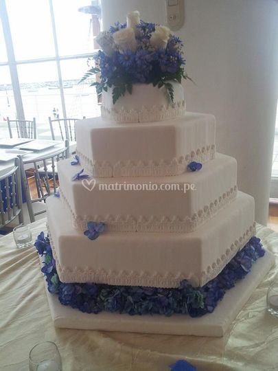 Torta Marina Hexagonal
