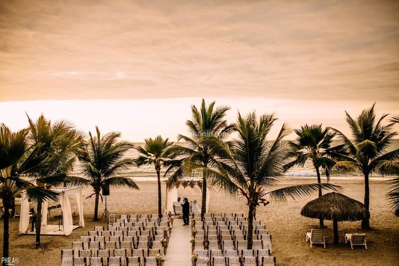 Ceremonia en playa