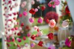 Rosas colgantes