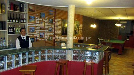 El bar del hotel