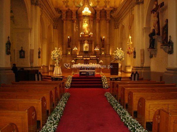 Camino de la iglesia