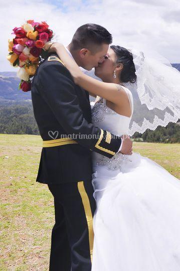 Matrimonio en las nubes