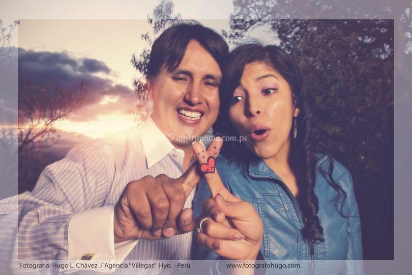 Luis y Nadia