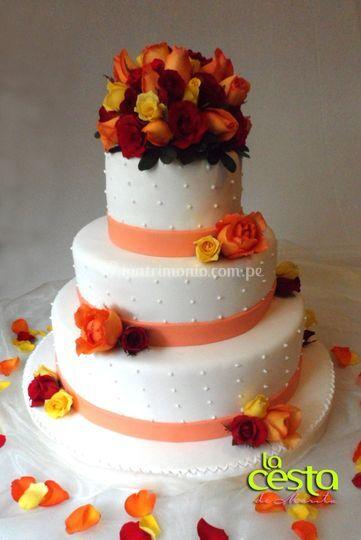 Torta de Matrimonio civil