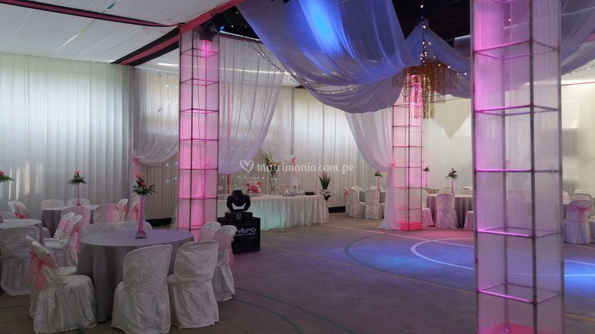 Salón para matrimonios