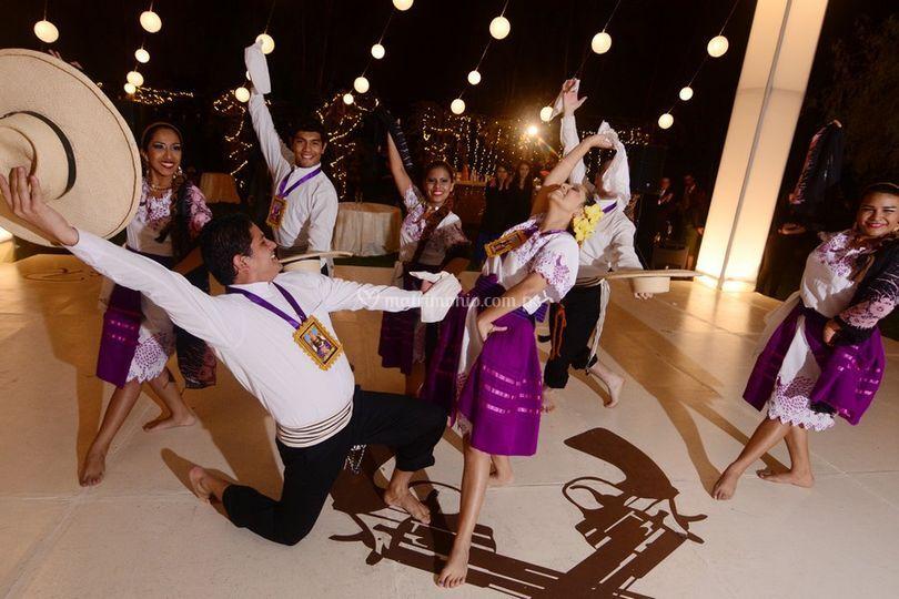 Show de danzas