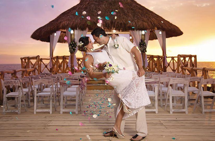 La mejor boda en Cancún