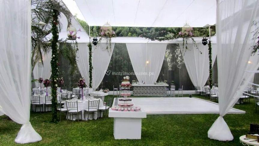 Una boda de día espectacular