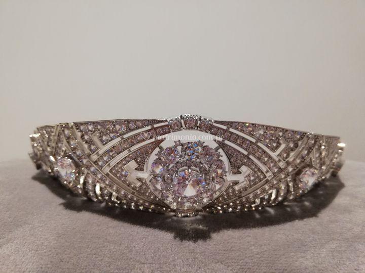Tiara estilo Meghan Markle