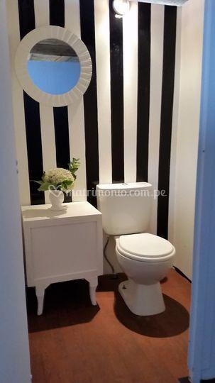 Cabina baño chanel