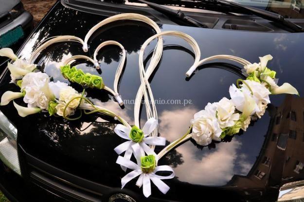 Arreglo floral delantero
