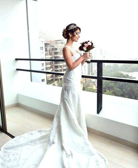 Fotografía de la novia