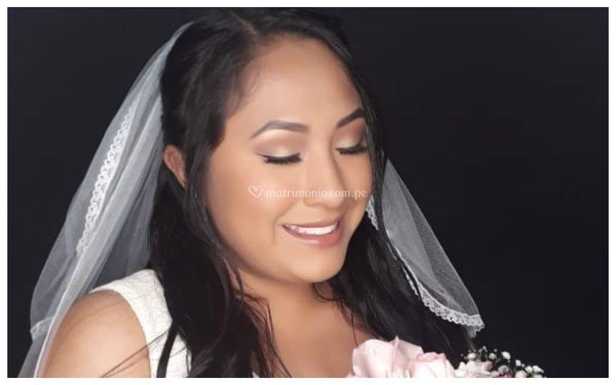 Maquillaje novia clásica