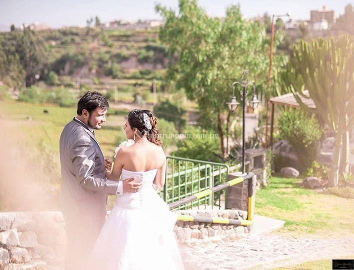 Novios post boda