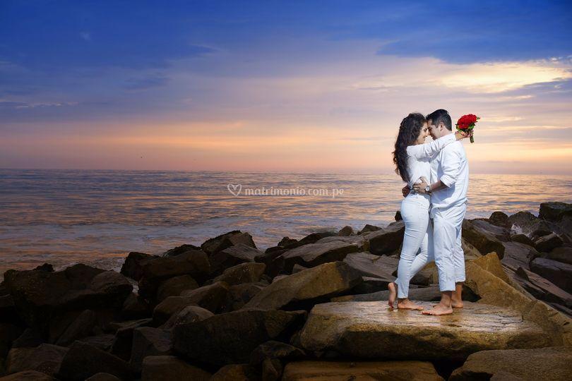 Pre boda playa