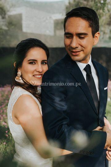 Annie y Juan Diego